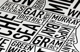 Ork Posters Founder Jenny Beorkrem Is The Original Designer Of Orks Signature Typographic Neighborhood Map Style Originating With Chicago
