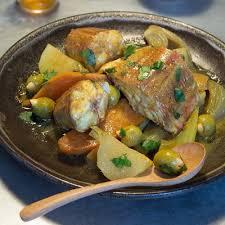 cuisine d hiver tajine de grondin aux légumes d hiver