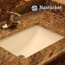 Kohler Verticyl Rectangular Undermount Sink by Nantucket Sinks Um 18x12 W 18 Inch By 12 Inch Rectangle Ceramic