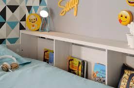 parisot higher bunk bed rainbow wood