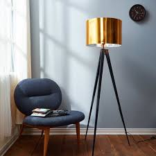 Overarching Floor Lamp Brass by Floor Lamps You U0027ll Love Wayfair