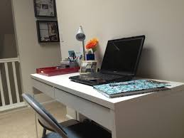 Corner Desk Ikea Micke by Decorating Wonderful Ikea Micke Desk In White With Drawers And