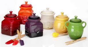 le creuset pots prices le creuset stoneware 16 ounce honey pot dijon honey