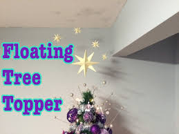 Christmas Tree Books Diy by Floating Christmas Tree Topper Youtube
