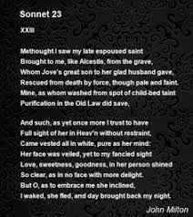 His Blindness John Milton