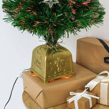 Small Tabletop Fiber Optic Christmas Tree by Artificial Fibre Optic Table Top Christmas Tree With Star Decorations