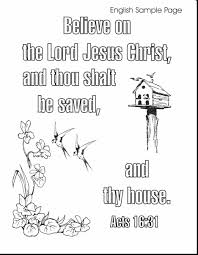 Fabulous Bible Verse Coloring Pages With Printable And