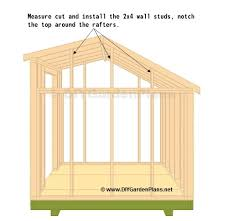 8 X 10 Gambrel Shed Plans by Top Wall Studs Shed Pinterest Wall Stud Wood Projects And