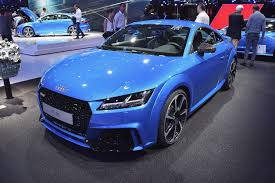 Audi TT RS at Paris Motor Show Stable Vehicle Contracts