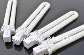 retail 9w nail uv gel machine l light bulb for nail dryer
