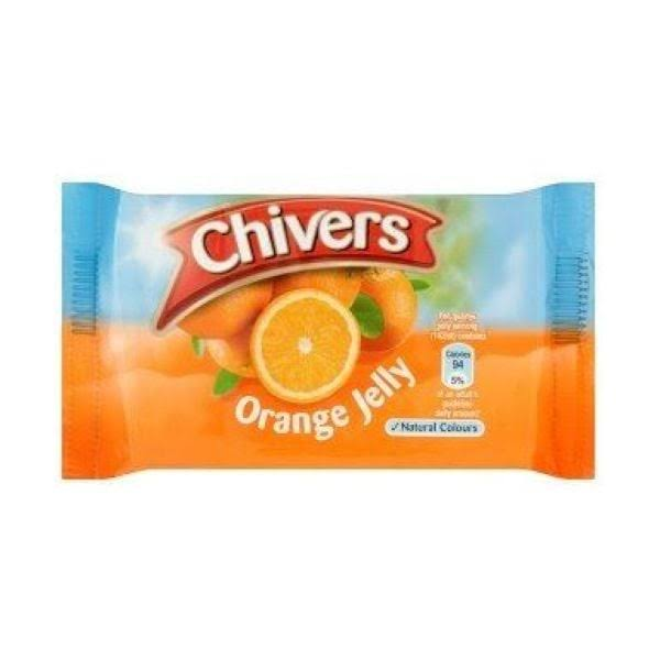 Chivers Jelly Orange Pkt Packet 12packs