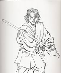 Coloriage Star Wars Anakin Superbe Architecture Anakin Skywalker For