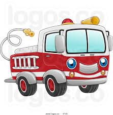 100 Black Fire Truck Angry Firetruck Driver Clipart Collection
