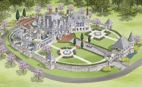 Highclere Castle Ground Floor Plan by Splendid Design Architectural Designs Castle 3 Highclere Floor
