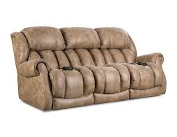 Wall Saver Reclining Couch by Homestretch Put Your Feet Up Custom Comfort