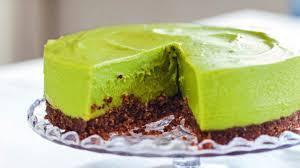 avocado limetten cheesecake