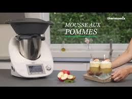 cuisine thermomix la mousse aux pommes au thermomix tm5 recette issue des cours de