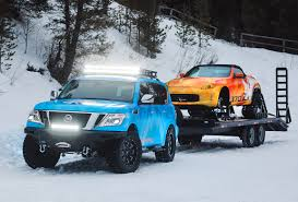 Blizzards Beware: Nissan Armada Snow Patrol Concept Is Here - The ... Wheels And Tire Stretching Advance Auto Parts Vehicle Hot Mattel Monster Jam Trucks Mohawk Warrior Diecast Mattracks Rubber Track Cversions John Deere Toys Treads Pickup Hauler With Horse Trailer At Jeep Wrangler Jl 2018 Mopar Pinterest Jeeps American Truck Subaru Impreza Wrx Stock 20 Liter Engine Heavy Duty Offroad For The Bush Stock Image Of Systems Woodys Mini Tank Vs Ifv Apc A Military Ground Idenfication Guide This Is What Makes Unstoppable Offroad Powertrack 4x4 Tracks Manufacturer Road Safety Tyre