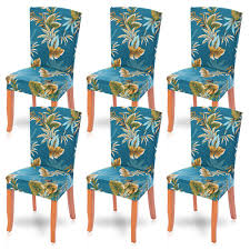 8Pcs Floral Print Stretch Chair Set Four Seasons Universal Washable Chair  Dust-Proof Cover Banquet Chair Seat Protector Slipcover For Home Party  Hotel ... Chair Upholstered Floral Design Ding Room Pattern White Green Blue Amazoncom Knit Spandex Stretch 30 Best Decorating Ideas Pictures Of Fall Table Decor In Shades For A Traditional Dihou Prting Covers Elastic Cover For Wedding Office Banquet Housse De Chaise Peacewish European Style Kitchen Cushions 8pcs Print Set Four Seasons Universal Washable Dustproof Seat Protector Slipcover Home Party Hotel 40 Designer Rooms Hlw Arbonni Fabric Modern Parson Chairs Wooden Ding Table And Chairs Room With Blue Floral 15 Awesome To Enjoy Your Meal