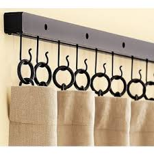 Pottery barn curtain hardware Decorate the house with beautiful