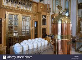 Vintage Coffee Machine Bar In Prague