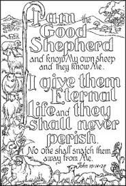 JESUS Is The Shepherd Bible Coloring PagesFree