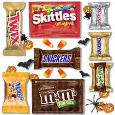 Halloween Candy List by Amazon Com Mars Chocolate Favorites Halloween Candy Bars Variety