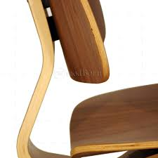 Eames Style Dining LCW Walnut Wood Chair - Replica