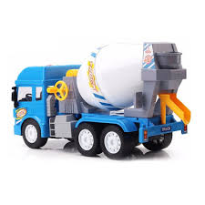 100 Toy Cement Truck Hopscotch Jumble Friction Powered Real Mechanism