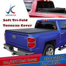 100 F 150 Truck Bed Cover 55T Soft Triold Tonneau It Or 20042014