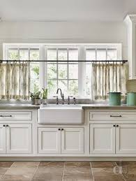 6 ways to dress a kitchen window cafe curtains curtains and sinks