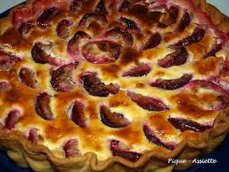 dessert aux quetsches recette tarte aux quetsches creme d amandes speculoos pique assiette