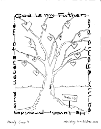 Coloring Download Our Father Page Inside Honor Your And Mother