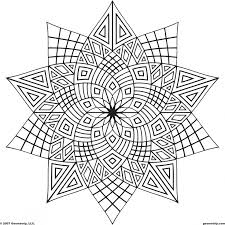 Adult Coloring Pages Image Gallery For Website Free Printable Adults Geometric