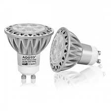 watt gu10 led spotlight cool white dimmable 50w replacement