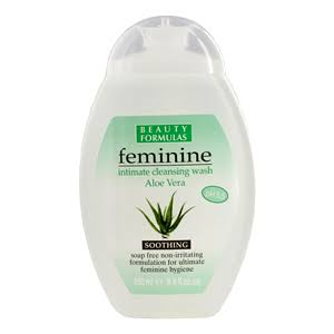 Beauty Formulas Feminine Intimate Cleansing Wash - Aloe Vera, 250ml