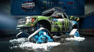 Ken Block's RaptorTRAX Is A Snow-Murdering SuperTruck Canam 6x6 On Tracks Atvs Pinterest Atv Vehicle And Offroad Tank Tracks For Pickup Trucks Treads Truck Tractor Tires V Page 2 Scale 44 Rc Forums With Regard To Halftrack Wikipedia Hot Wheels Monster Jam 164 Styles May Vary Its A Birdits Planeits Blownalcohol Rod Powertrack Jeep 4x4 Manufacturer Learn More Grip Step Running Boards What You Need To Know Before Tow Choosing The Right Tires For Turn Your 2wd Into Badass Overland Pro Mud