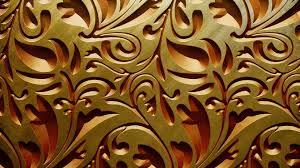 Gold Wallpaper Wide pWK