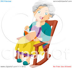 Clipart Happy Female Senior Citizen Reading In Her Rocking ... Clipart Sitting In Chair Clip Art Illustration Man Old Lady Sleeping Rocking Woman Playing Cat On Illustration Amazoncom Mtoriend Kodia Rocking Chair Patio Wave Of A Mom Sitting With Her Baby Western Clip Art White Hbilly Cowboy An Elderly A Black Relaxing In Sit Up For 5 Month Pin Outofcopyright Black Man