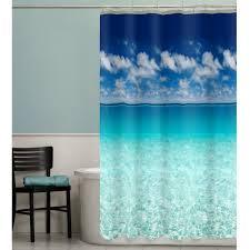 Beach Themed Bathroom Decor Diy by Curtains Beach Theme Curtain Coastal Bathroom Ideas Beach Themed