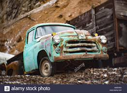 100 1954 Dodge Truck A Job Rated V8 Stepside Pickup Truck In An Old Quarry