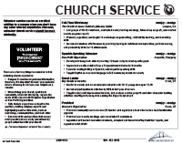 including church service on your resume career services