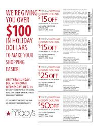 in coupons retail Macys Coupons – Printable