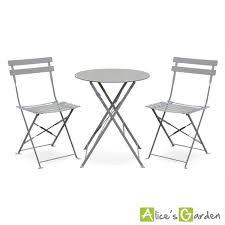 table de jardin ronde metal achat vente table de jardin ronde