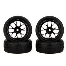 GoolRC 4Pcs High Performance 1/10 Rally Car Wheel Rim And Tire ... Tireswheels Cars Trucks Hobbytown 110th Onroad Rc Car Rims Racing Grip Tire Sets 2pcs Yellow 12v Ride On Kids Remote Control Electric Battery Power 4 Pcs 110 Tires And Wheels 12mm Hex Rc Rally Off Road Louise Scuphill Short Course Truck How To Rit Dye Or Parts Club Youtube Scale 22 Alinum With Rock For Team Losi 22sct Review Driver Best Choice Products 112 24ghz R Mad Max 8 Spoke Giant Monster Tyres Set Black Mud Slingers Size 40 Series 38 Adventures Gmade Air Filled Widow Custom