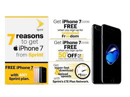 Sprint Joins Verizon AT&T And T Mobile With Free iPhone 7 Trade