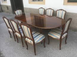 esstischgruppe barockstil speisezimmer ausziehbarer tisch