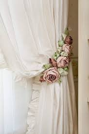Simply Shabby Chic Curtain Panel by Shabby Chic Balloon Valance Romantic Rose Curtain Off Ideas