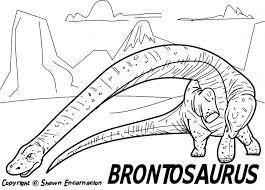 Printable Dinosaur Coloring Pages Preschool Free Animal