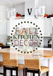 Fall Kitchen Decor Via Firsthomelovelife Com